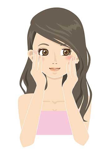洗顔イメージ画像