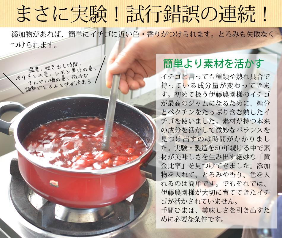 熊本伊藤農園農薬不使用イチゴジャム