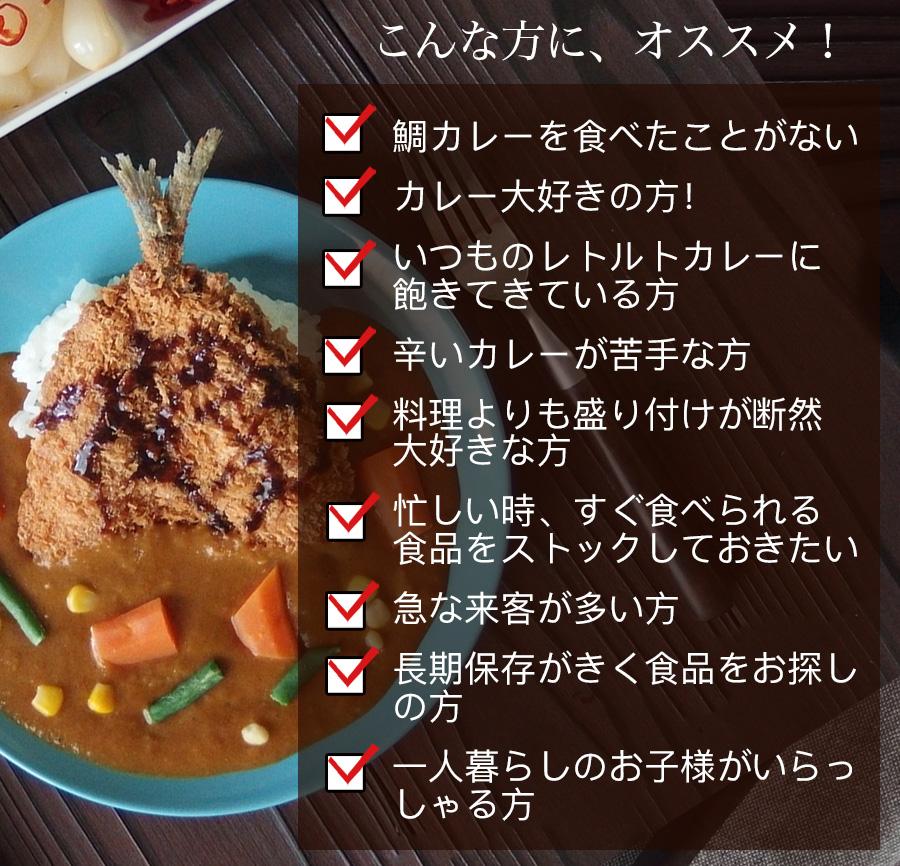 こんな方にオススメ、長崎五島ごとの特製カレー